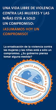 Di NO a la violencia contra las mujeres