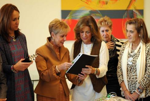 Ana Botella recibe a la Junta Directiva Nacional de AFAMMER